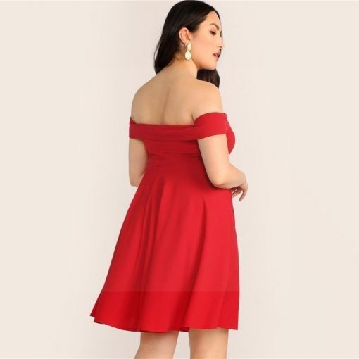 Bohemian Kleid große Größe chic